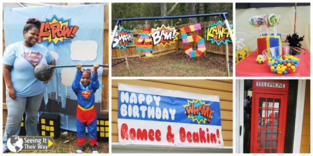 Super Hero Party Decorations