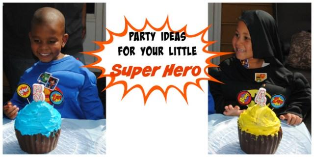 Super Hero Party Ideas Cake