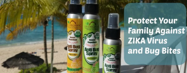Protect your family against zika virus and bug bites