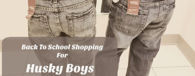 back to school shopping for husky boys