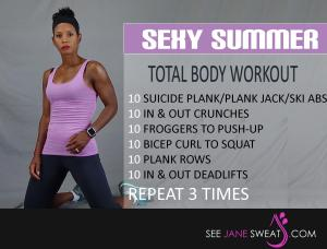 Sexy Summer Total Body Workout