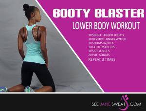 Booty Blaster Lower Body Workout