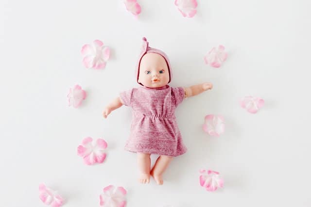 Baby Dolls Playing Youtube Free Baby Doll Dress Pattern With Matching Headband