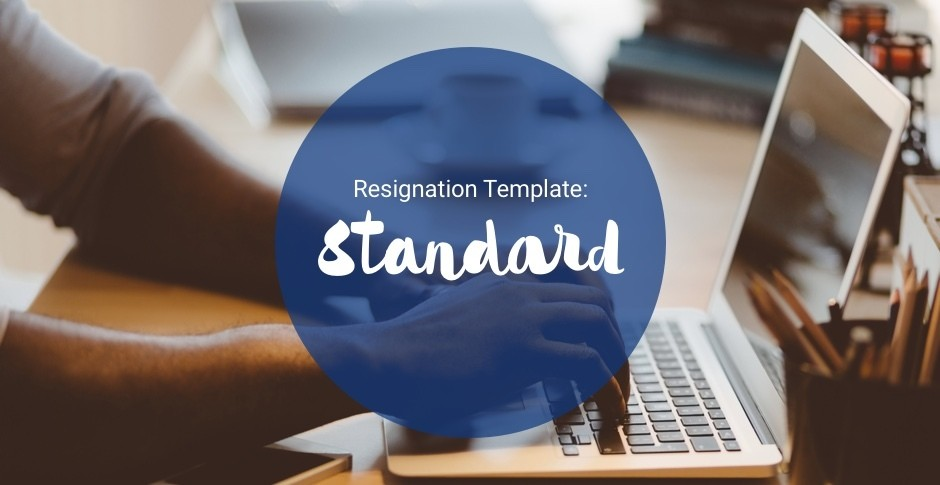 Download SEEK\u0027s free standard resignation letter template - SEEK