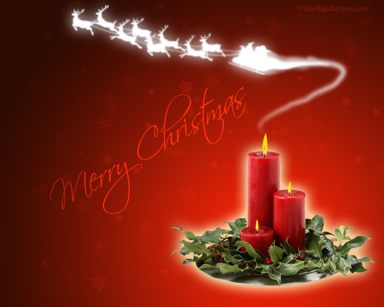 Christmas Background Gif Merry Christmas Candle Smoky Background Hq Free Download 15916