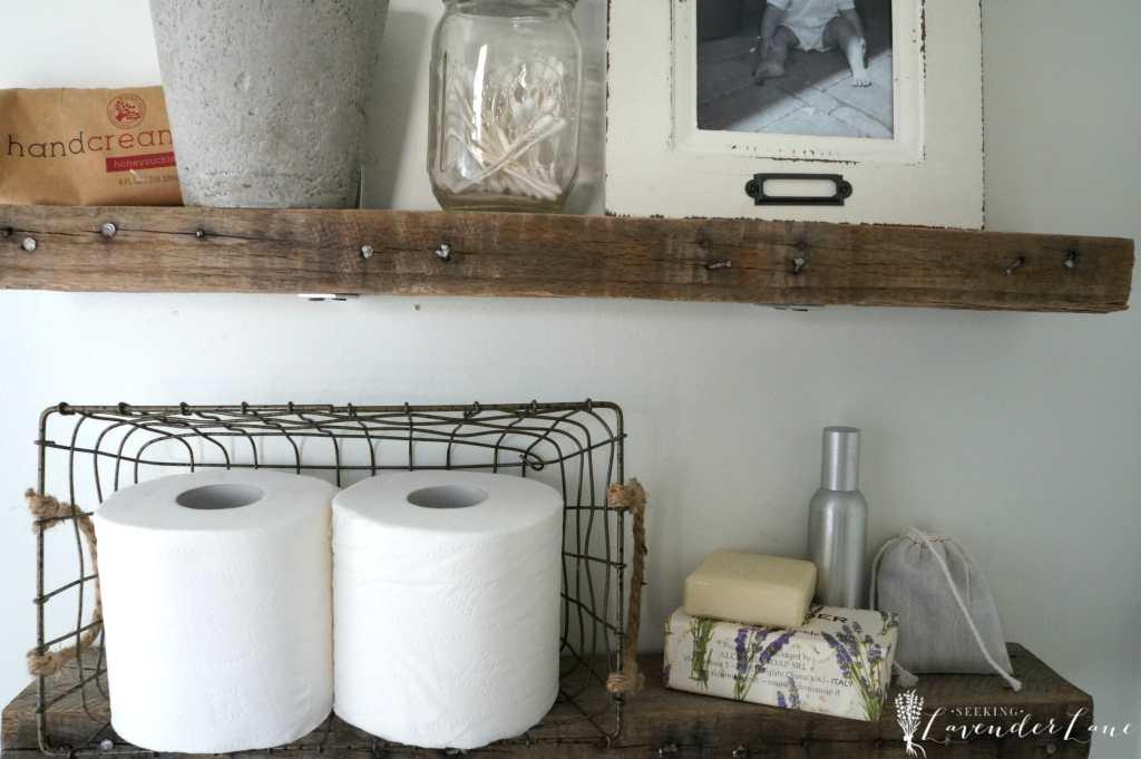 Pallet Wood Floating Shelves 4