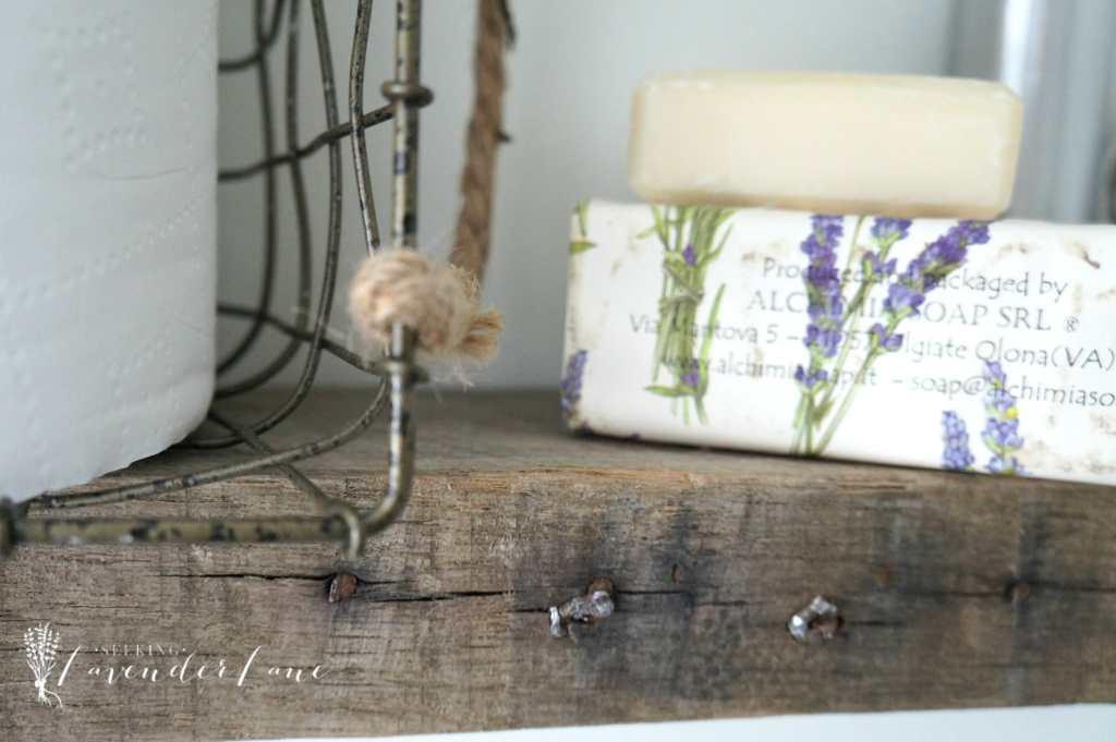 Pallet Wood Floating Shelves 9