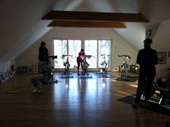 spinning triathlon training