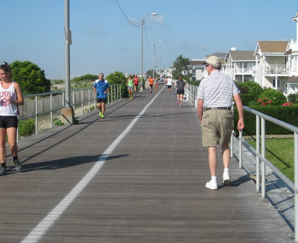 marathon training long run boardwalk