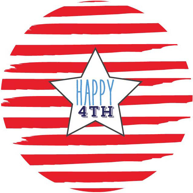 free printable) 4th of july stickers - See Vanessa Craft