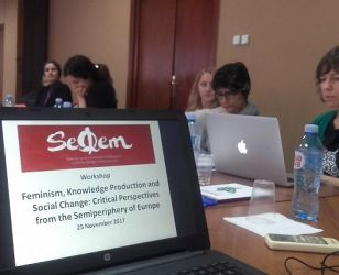 Photo Gallery – Workshop: FEMINISM, KNOWLEDGE PRODUCTION AND SOCIAL CHANGE: CRITICAL PERSPECTIVES FROM THE SEMIPERIPHERY OF EUROPE –  25 November 2017