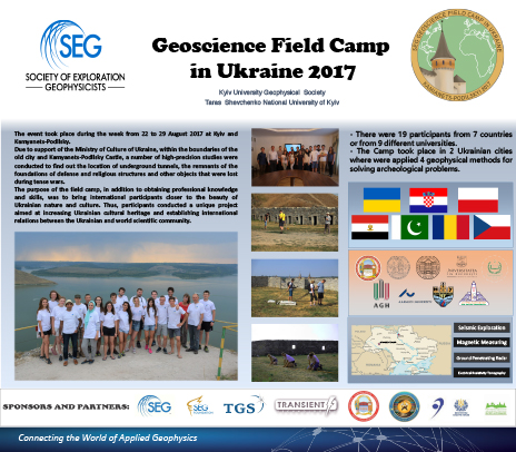 Sample Poster Presentations from SEG Field Camps