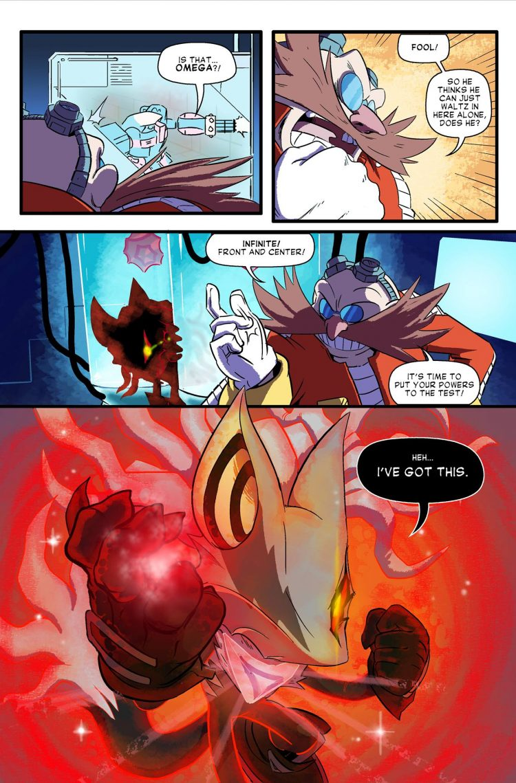 Edgy Girl Wallpaper Sonic Forces Looming Shadow Web Comic Brings Back Team