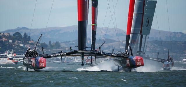 Team New Zealand, Luna Rossa.