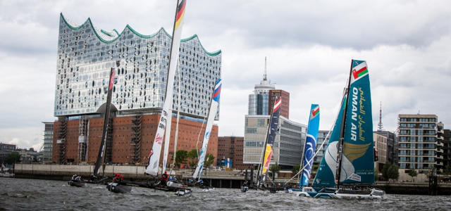 2015 Extreme Sailing Series - Act 5 - Hamburg