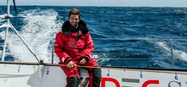 Boris Herrmann segelt in 47 Tagen um die Welt. © IDEC