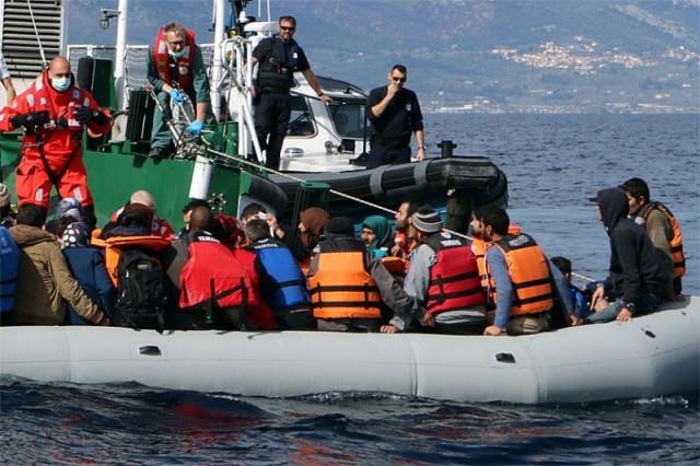 Seenotrettung, Flüchtlinge, Ägäis, DGzRS, DLRG