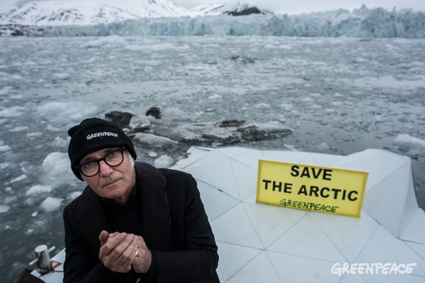 Arktis, Elegie, Piano, Performance, gletscher