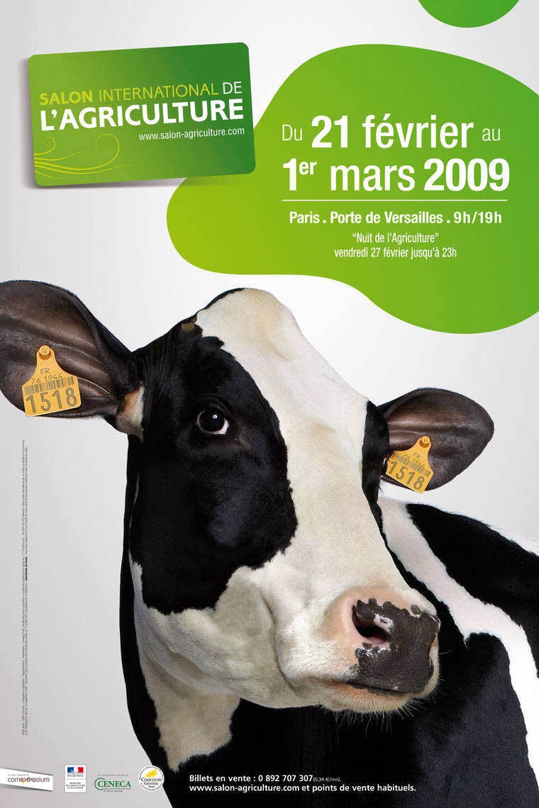 Billet Salon Agriculture Cornues Ou Non Cornues