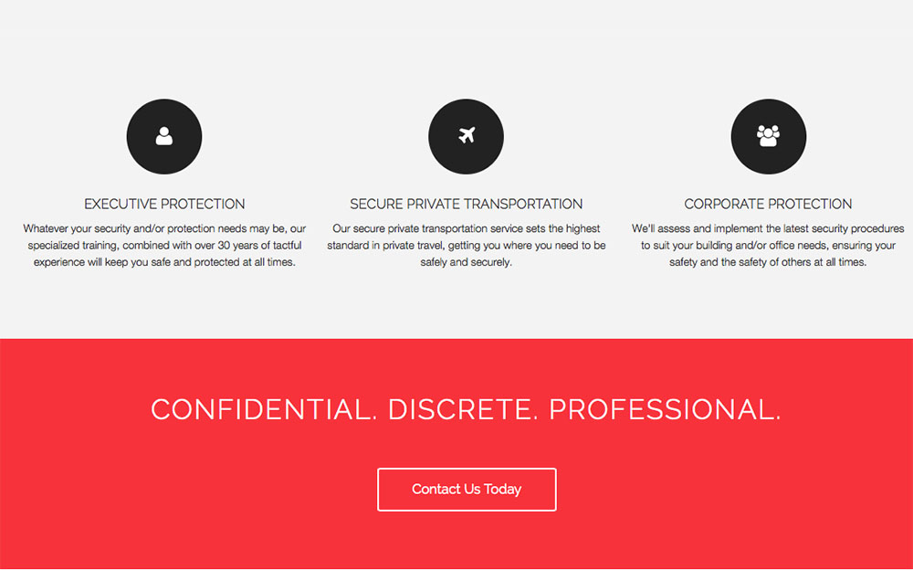 Executive Protection Specialist - Segue Creative - executive protection specialist
