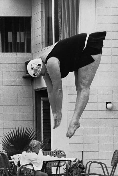 Diving belle