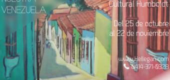 Asdrúbal Maestre expone Rincones de Venezuela enla Asociación Cultural Humboldt