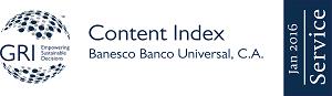 Banesco presentó su informe de RSE certificado por el GRI bajo el estándar G4