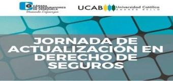 """Venezuela: La Cámara de Aseguradores de Venezuela invita a la """"Jornada de Actualización de Derecho de Seguros"""""""