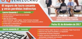 Venezuela: Cavecose invita Curso Lucro Cesante I y II