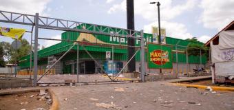 Nicaragua: Aseguradoras evaluaban daños en algunos supermercados