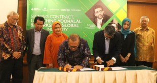 Foto | https://sportourism.id | Launching platform, Yoohalal.com di Hotel Grand Sahid Jaya, Jakarta,