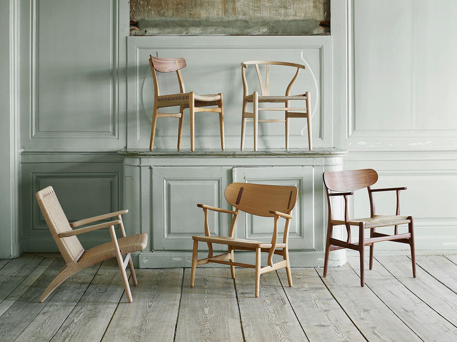 Hans Wegner Stühle The Five First Masterpieces Von Hans J. Wegner