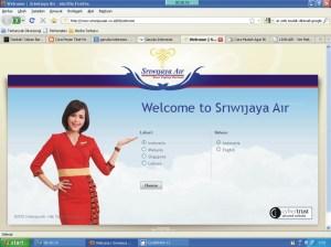 Web Sriwijaya Air