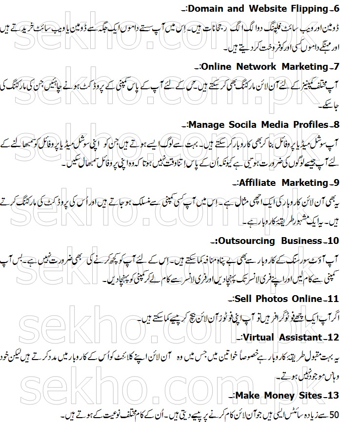 Home business ideas in urdu - Home ideas - business ideas from home