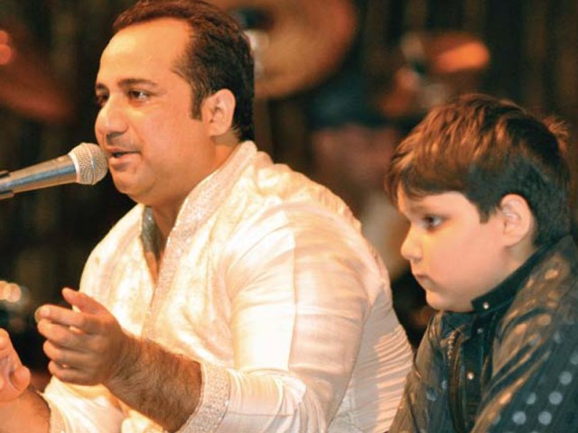 Son Age Rahat Fateh Ali Khan Family Pics, Wife, Son, Age, Biography