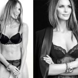 Elle MacPherson, the body, is 50 en mooi in sexy ondergoed