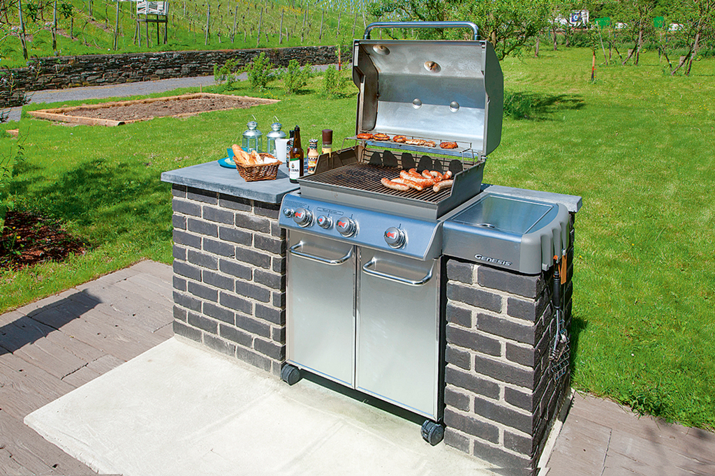 Grill Selbst Mauern Grillstation | Selbst.de