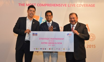 Picture 1-Strategic partnership between Astro Arena and OCM