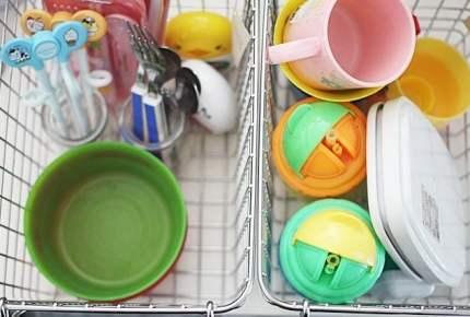 活躍したのは無印良品の「あの商品」。キッチンの子供用品をスッキリ収納する方法