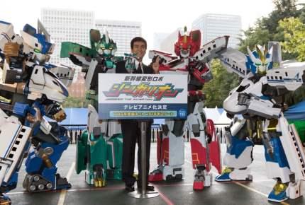 新幹線がロボットに!? 大人気「シンカリオン」のアニメ化が決定!