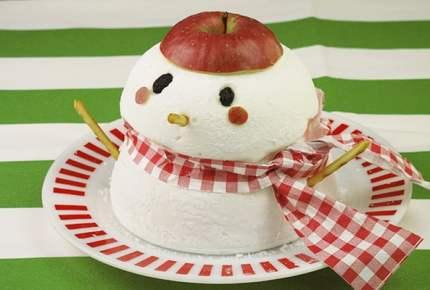 クリスマスレシピ☆マシュマロの大きなスノーマン