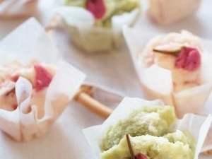 おひなさまにも!桜香る春色蒸しパン