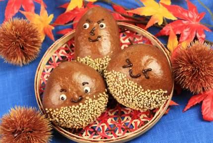秋はパン作りに最適!可愛い栗とどんぐりのパンを作ってみよう!