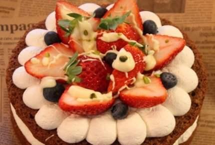 バレンタインに家族で食べたい!まるごとホールケーキを作ろう!