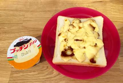 プリンで簡単に「フレンチトースト」が作れるワザがあった!