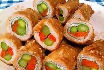 運動会のお弁当におすすめ!彩りの良い野菜の肉巻き6選