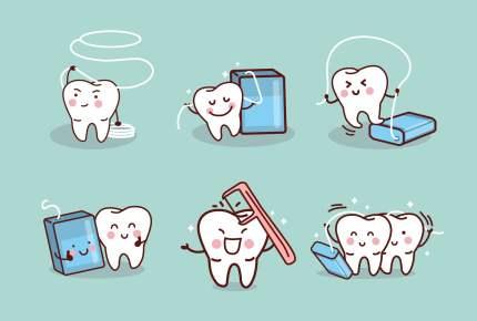 子どもの歯の仕上げ磨き、デンタルフロスもしてあげて!