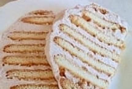 所要時間10分の焼かないケーキ!?見目もかわいい超簡単な「ビスケットケーキ」