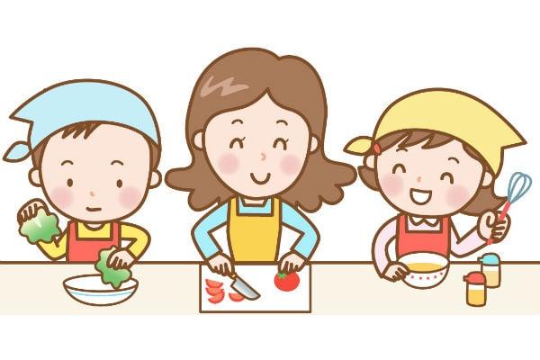 いいことだらけ!子供と一緒にご飯をつくると伸びる3つの力