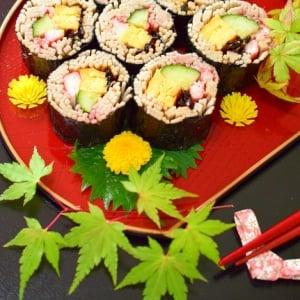 おもてなしにも、お弁当にも♪「そば」で作る寿司の定番と新アランジ